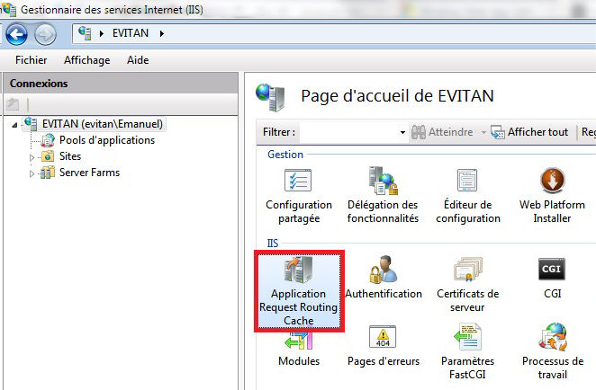 Reference: Handling Certificates with IIS7 and Routing the